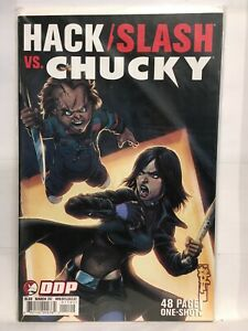 Hack/Slash vs Chucky #1 Cover C VF/NM 1st Print DDP Comics