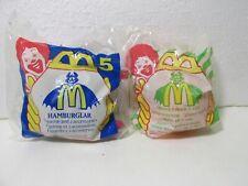 """McDonald/'s Characters  /""""In Halloween Costumes Set/""""  NIP McDonald/'s 1995"""