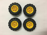 LEGO® Technic Tyre Tire 56 x 26 Balloon Yellow Wheel Brand New Split from 42053