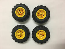 LEGO® Technic Tyre Tire 56 x 26 Balloon Yellow Wheel Brand New Split from 42053