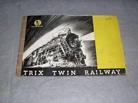 Trix Twin Railway Dealer's Catalog 1948 Model Trains Railroad Price Guide Book