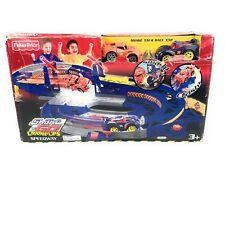 Rare Fisher Price Shake N Go Crash Ups Speedway Mattel Cars 2007 Toy Race Track