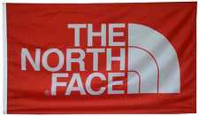 The North Face Outerwear Flag Extreme Red 3x5ft banner