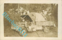 WW1 American Army Liberty Truck 1917 Real Photo unposted
