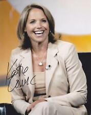 KATIE COURIC Signed 8x10  GLOSSY  Photo #2 COA