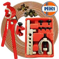 Brake Pipe Repair Kit Brake Line Flarer Cutter Bender 10mm Metric Unions Ends
