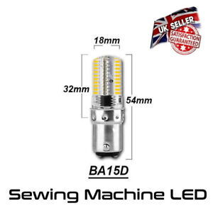 LED Sewing Machine Bulb Small Bayonet Cap SBC Warm White *UK Seller*