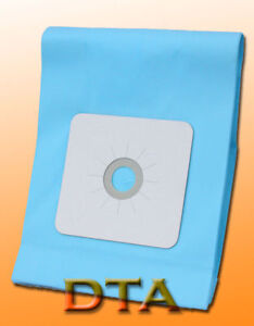 DUCTED VACUUM BAGS x 6 FOR MOST BAGGED CENTRAL VACUUM SYSTEMS,