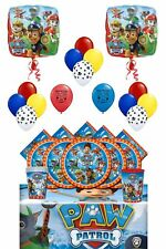 Paw Patrol Deluxe Party Supply Bundle and Room Decorating Kit