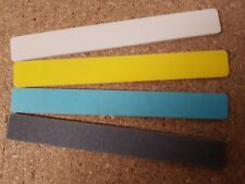 Albion Alloys Pro Sanding Files. Assorted. .165mm x 20mm. 4 pack