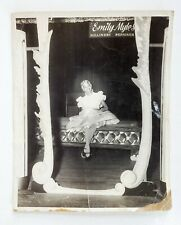 Vintage Shop Emily Myles Millinery Lovely African American Model in Blonde Wig