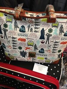 Dooney And Bourke 2016 Disney Star Wars The Force Awakens Shopper Tote NWTS