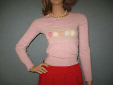 "CHANEL!!** Pure Cashmere Cropped ""Schoolgirl"" Sweater!! 34"
