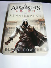 Assassin's Creed Renaissance by Oliver Bowden PB novel based on computer game AE
