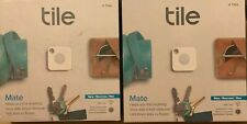 2 Tile Mate Bluetooth Tracker- 4 Pack  with replaceable battery