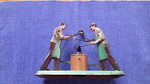 Bing - Dampfmaschine - Zubehör - Antriebsmodell - 2 Männer am Amboss