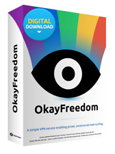 OkayFreedom VPN Premium [Unlimited Traffic,1 Year License,Key,Digital Download].