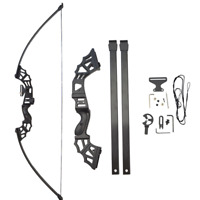 "53"" 30-50lbs Archery Straight Bow Recurve Takedown Bow Outdoor Target Shooting"