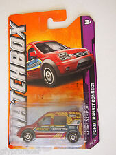Matchbox 2012 #003/120 Ford Transit-cherry red/transit airport connect