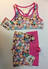 Girls Underwear - Tsum Tsum - Sports Bra & 2pk Boy Style Shorts Bundle - New M/8