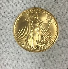 $5 1/10 oz Gold American Eagle Coin, (1998) Uncirculated