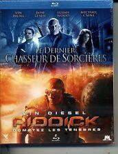 LE DERNIER CHASSEUR DE SORCIERES + RIDDICK   coffret 2   BLU RAY  ref 02121610