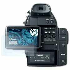 Bruni 2x Schermfolie voor Canon EOS C100 Screen Protector Displaybeveiliging