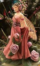 Dragonsite Fairy Figurine *Lavender Rose* Jessica Galbreth. LimitedEdition. 1200