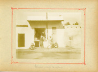 Tunisie, Tunis (تونس), Café Maure  Vintage citrate print.  Tirage citrate  8