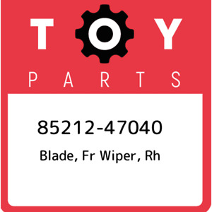 85212-47040 Toyota Blade, fr wiper, rh 8521247040, New Genuine OEM Part