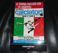 La Raccolta Completa Degli Album Panini 1965 1966 Gazzetta Dello Sport Figurine