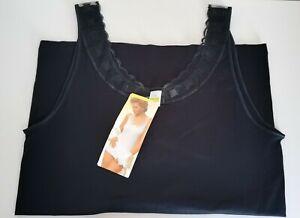 CALIDA 100% Baumwolle Schwarz Unterhemden Gr. M