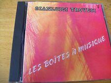 GIANLUIGI TROVESI LES BOITES A MUSIQUE  CD SPLASCH