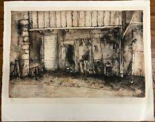 1975 SIGNED Bernard Gantner La Cour Court LE LImited Numbered Print ONLY #49/90