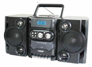 Naxa Npb-428 Mini Hi-fi System - Black - Cd Player, Cassette Recorder - 1
