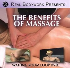 Benefits Of Massage Waiting Room Loop Video On DVD - By Real Bodywork