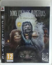 Donde Viven Los Monstruos. El Videojuego. Ps3. Fisico. Pal Es