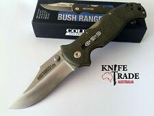 Cold Steel 21A Bush Ranger Lite Folding Pocket Knife 8Cr13MoV Blade GFN Handle