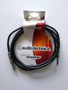 Audio-Technica AT690-6 Premium 14-ga. 6 foot Speaker Cable 1/4 inch New/NOS 6' 1