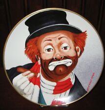 "Vintage Red Skelton ""Freddie The Freeloader"" Clown Plate Hand Signed 1976"