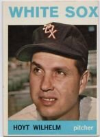 1964 Topps #13 Hoyt Wilhem EX-EX+ WRINKLE Chicago White Sox FREE SHIPPING
