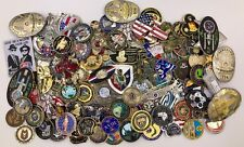Lot of 100 Challenge Coins FBI CIA USN CPO Police Military Trump USS Enterprise