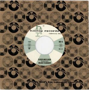 "GOLDEN TEARDROPS  ""CLOSER AND CLOSER""   1961 MASSILLON, OHIO DOO WOP"