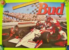 "1994 BUD / KMART INDY RACE CAR #3 POSTER 28"" X 20"" Gorgeous BUDWEISER BEER Xlnt+"