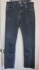7 For All Mankind Slimmy Womens Light Charcoal Jeans Pants~~Sz 30~GC