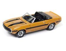 Johnny Lightning 1/64 1970 Shelby GT-500 Diecast Grabber Orange (JLCP7059)