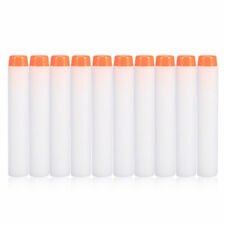 10pcs Bullet Darts Blasters For NERF N-Strike Refill Gun Kids Toys White
