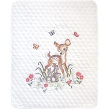 Janlynn Stamped Cross Stitch Kit - Baby Deer Quilt