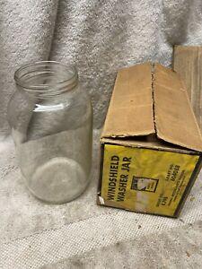 Vintage NOS GM accessory windshield washer jar bottle 604088