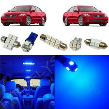 9 Piece blue LED interior conversion package kit and license plate lights NA5B